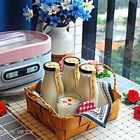 玫瑰花茶酸奶#樱花味道#的做法图解7