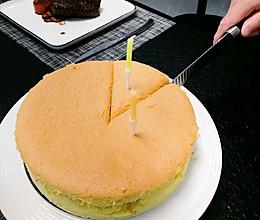 八寸古早蛋糕的做法