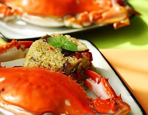 飞蟹咖喱饭