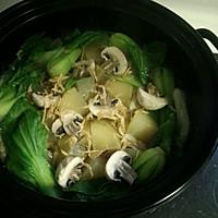 清炖雪莲果豆腐丸子锅的做法图解4