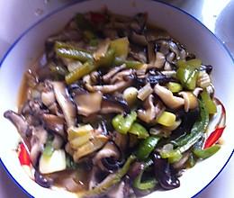 豆瓣酱香菇的做法