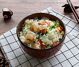 咸肉青菜饭的做法