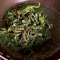 香煎荠菜馄饨的做法图解3