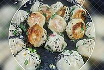 简易生煎包子(饺子皮)的做法