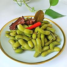 #夏日撩人滋味# 好吃不变色煮毛豆