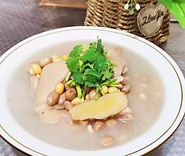 花生黄豆炖猪蹄儿的做法