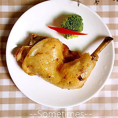 至肉食主义者——电饭煲盐油鸡腿