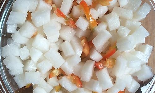 开胃菜 酸甜萝卜的做法