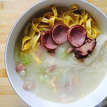 一个人的什锦白菜汤