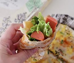 #春日时令,美味尝鲜#自制杂粮煎饼果子的做法