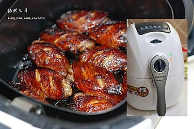 空气炸锅版酱油鸡翅