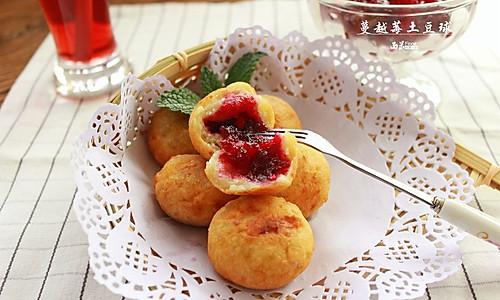 蔓越莓土豆球的做法