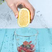 夏日特饮樱桃莫吉托柠檬水的做法图解3