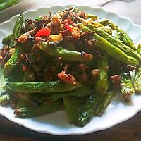 梅干菜煸四季豆的做法图解8