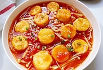 番茄金针菇玉子豆腐的做法