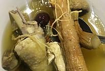 人参姬松茸鸡汤的做法