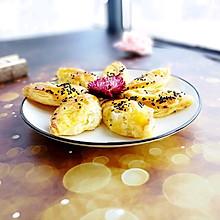 香蕉蛋挞酥#做道好菜,自我宠爱!#