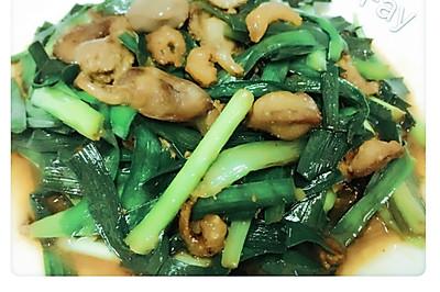 蝦米炒韭菜