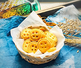 #快手又营养,我家的冬日必备菜品#纽扣小饼干的做法