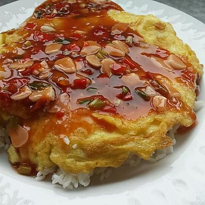 ✔快手菜✔鱼香烘蛋盖饭
