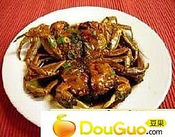 葱姜炒螃蟹的做法
