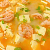 #美食新势力#鲜虾豆腐的做法图解5