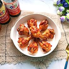 #味达美名厨福气汁,新春添口福#香烤鸡翅根