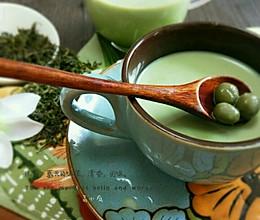 夏天的味道~抹茶奶茶的做法