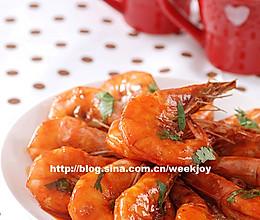 年夜饭_红烧大虾的做法