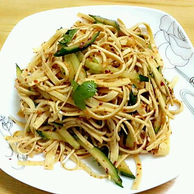 朝鲜小辣菜-----辣拌干豆腐丝