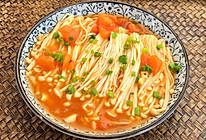 番茄金针菇的做法
