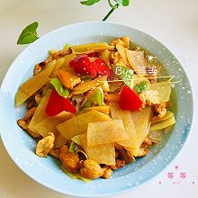 彩椒鸡肉土豆片