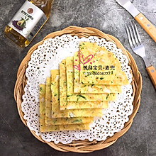 银鱼黄瓜蛋饼