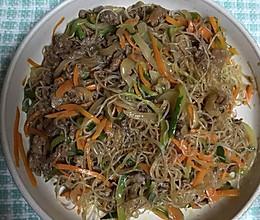 韩式拌菜的做法