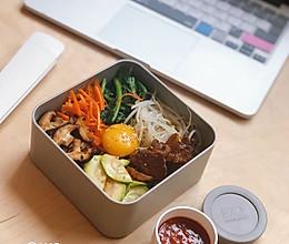 韩式拌饭-便当(含酱料做法)的做法
