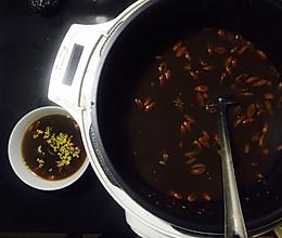 红豆糯米桂花粥的做法