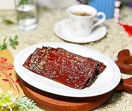 年味小吃|蜜汁猪肉脯的做法