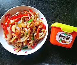 #一勺葱伴侣,成就招牌美味#甜椒洋葱炒肉丝的做法