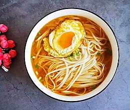 清汤面的做法