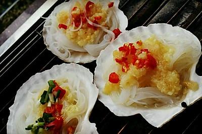 蒜蓉扇贝粉丝(烧烤·清蒸)