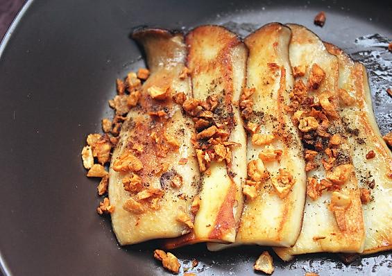 黄油香煎鲍菇的做法