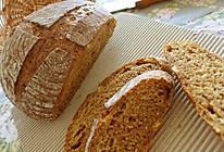 红糖核桃乡村面包的做法