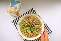 #蛋趣体验#香菜金针菇炒肉丝的做法