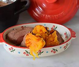 砂锅烤地瓜的做法
