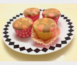 豹纹cupcake的做法