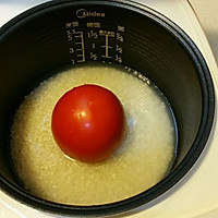 超超级简单版整个番茄饭 电饭煲版本的做法图解2