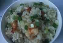 虾豆焖饭的做法