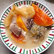鱼尾木瓜汤