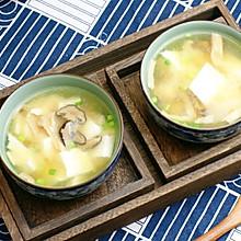 豆腐百菇大酱汤