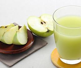 自制廋身养颜苹果汁  的做法